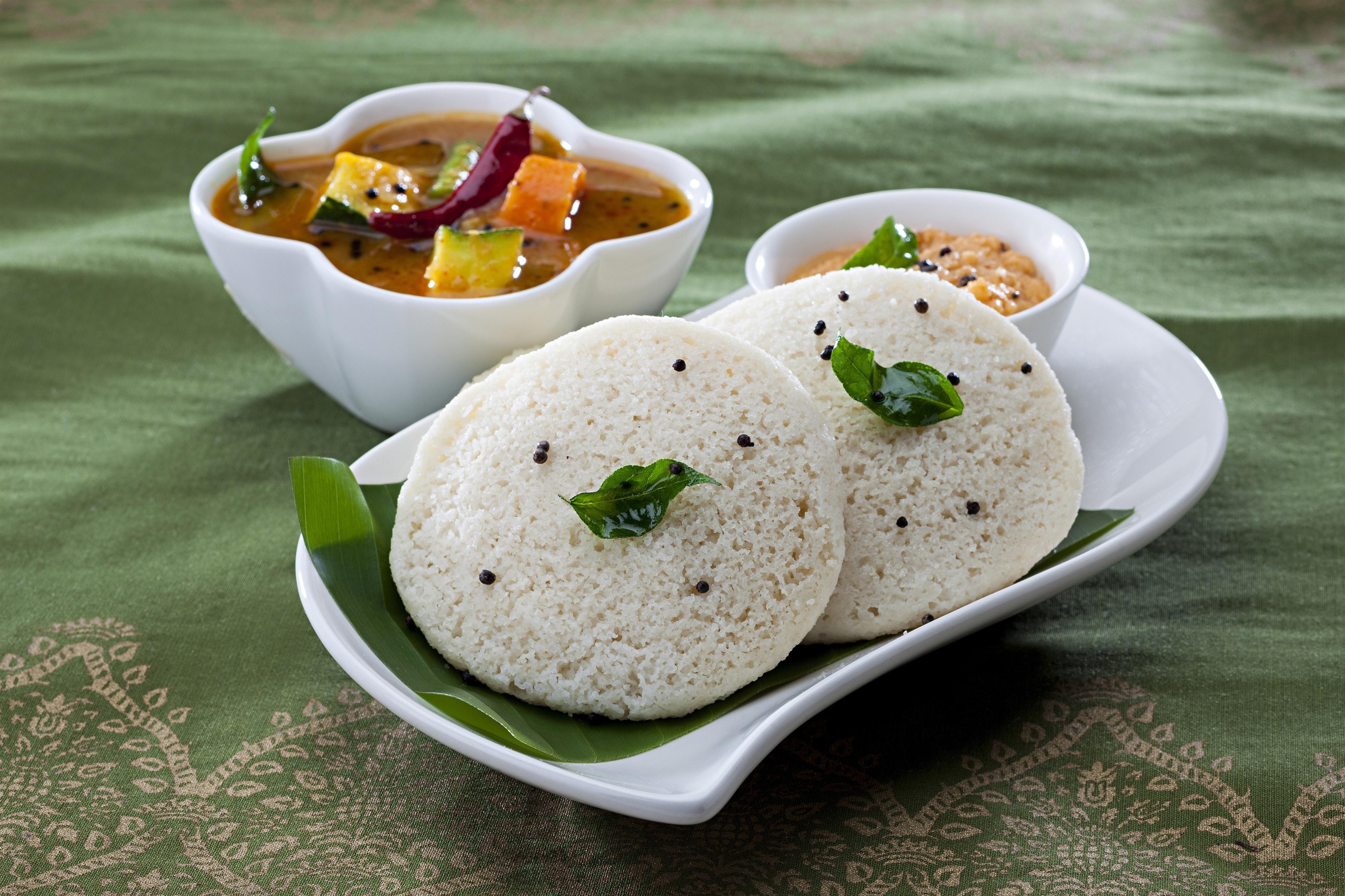 Free Stock Photo Of Breakfast Idli Indian Foods