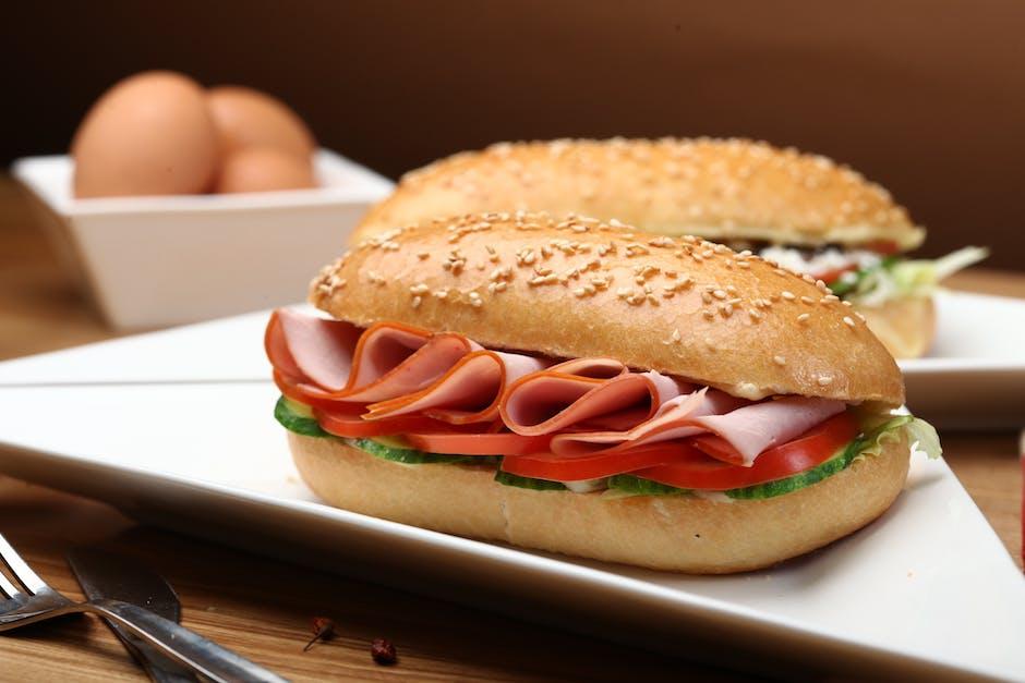 bread, breakfast, bun