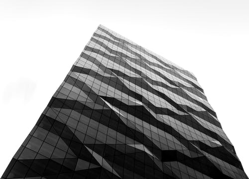 Black and White Checkered Textile