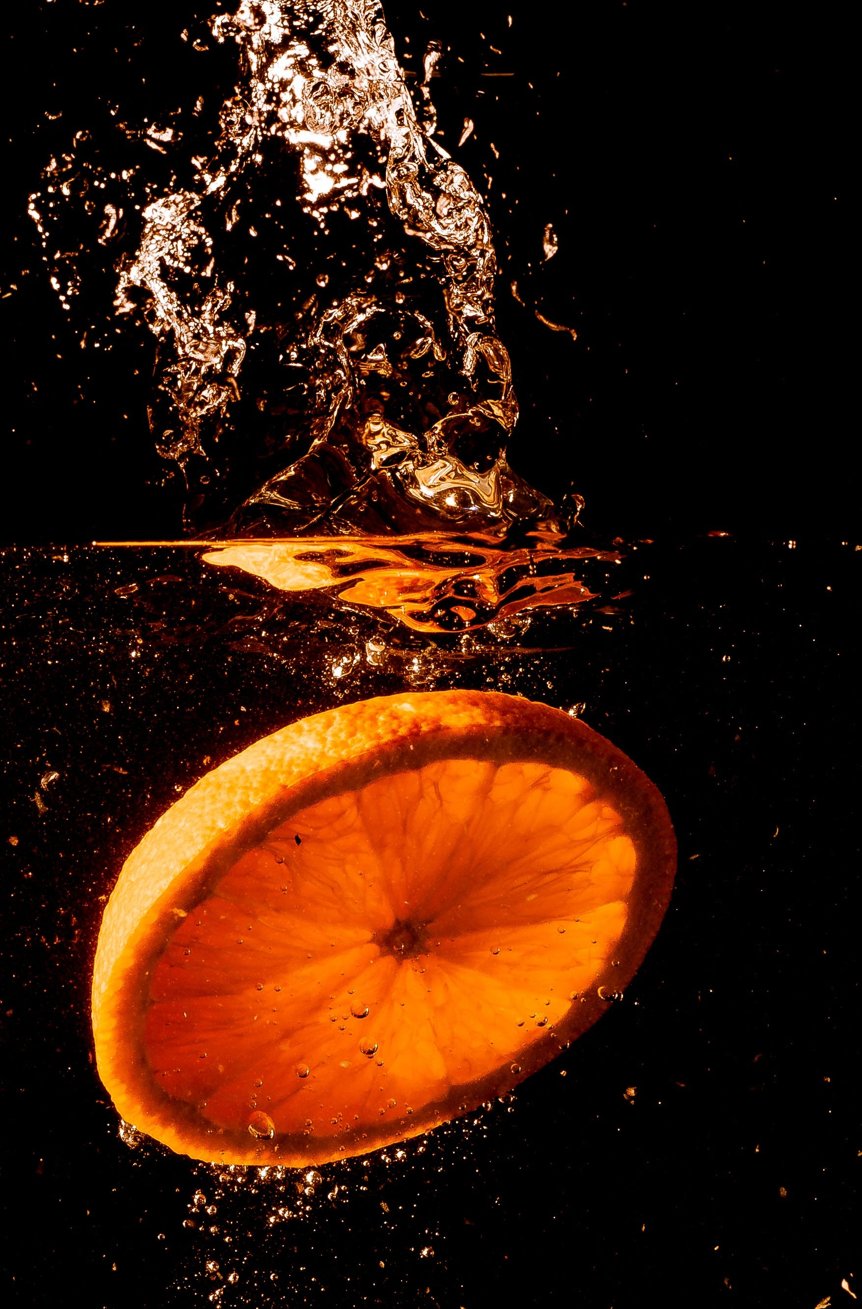 Foto d'estoc gratuïta de aigua, beguda, cítrics, esquitxada