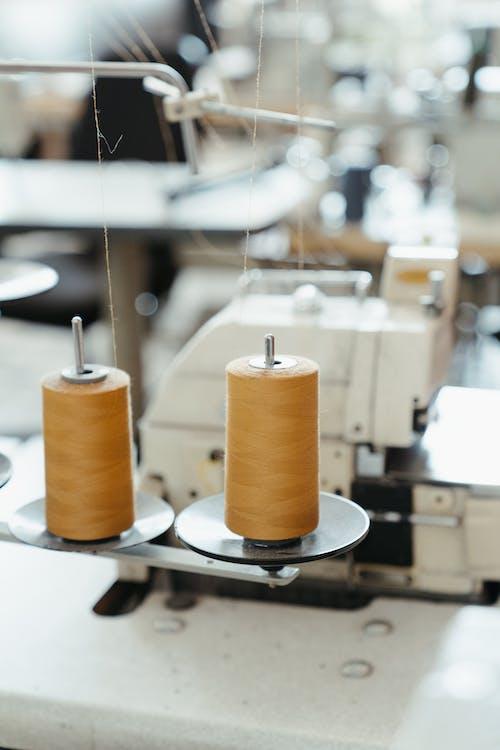 Kostenloses Stock Foto zu atelier, dünner faden, fabrik