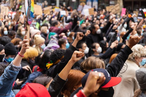 People Gathering on Street