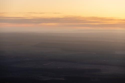 Free stock photo of landscape, layers, nature, sunset