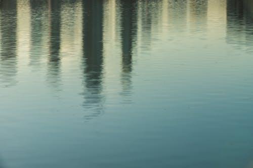 Free stock photo of minimalism, water reflection