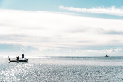 Kostenloses Stock Foto zu angeln, bewölkt, blauer himmel