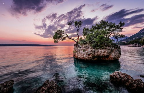 Бесплатное стоковое фото с вечер, вода, закат, залив