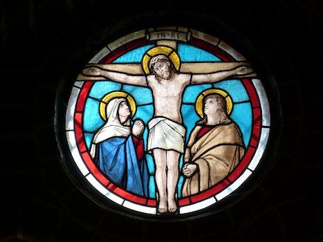 Kostenloses Stock Foto zu fenster, kirche, religion, jesus