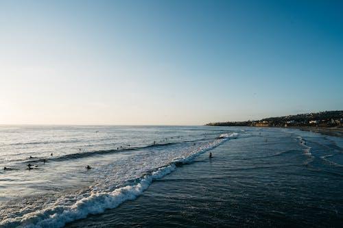 Fotos de stock gratuitas de agua, al aire libre, amanecer, arena