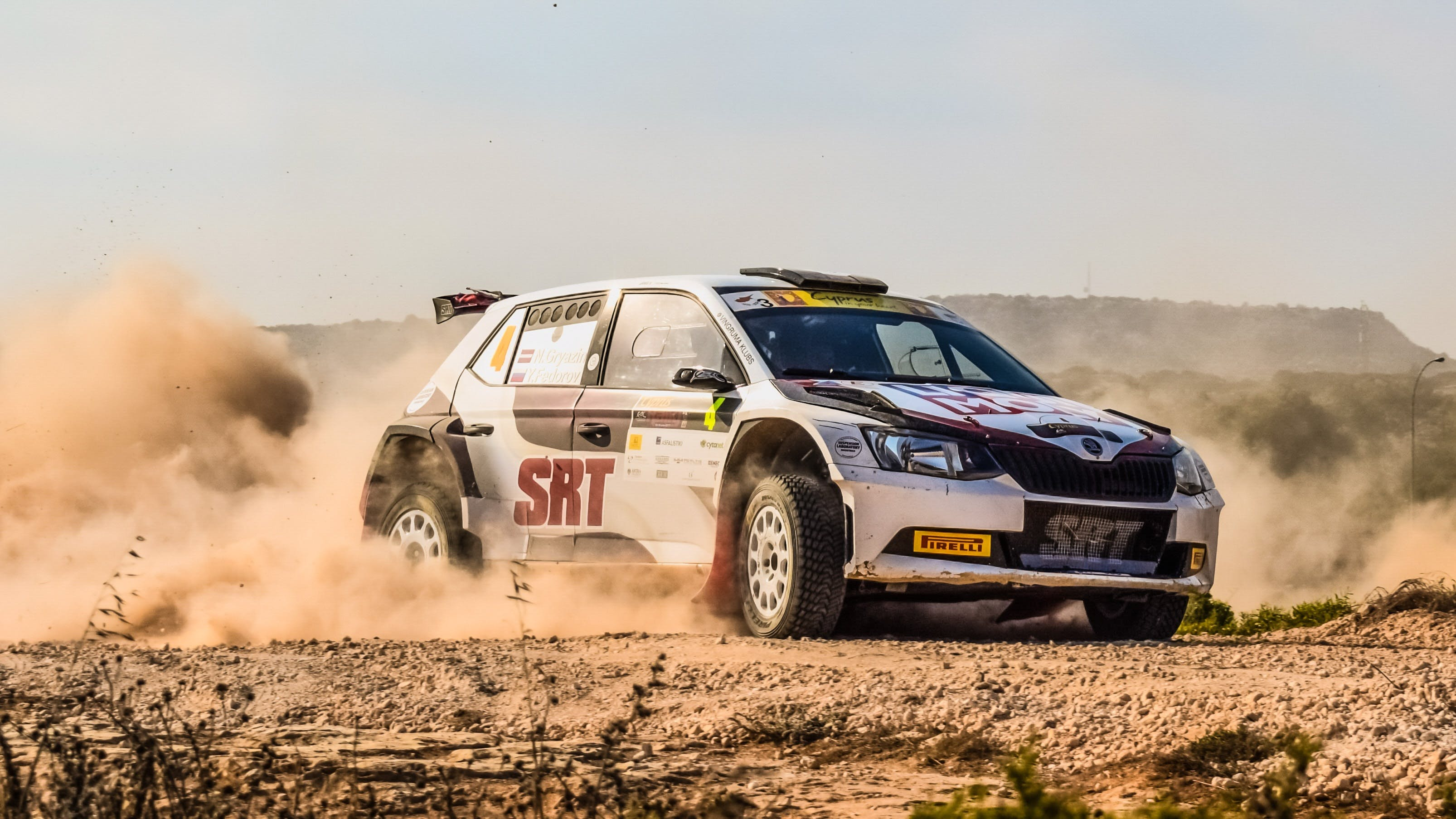 Free stock photo of action, car, competition, cyprus