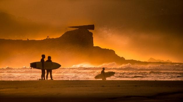 Free stock photo of landscape, nature, sunset, beach