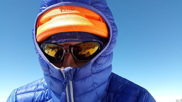 Free stock photo of cold, man, person, sunglasses