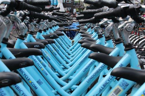 Ingyenes stockfotó állvány, biciklik, biciklizés, evez témában