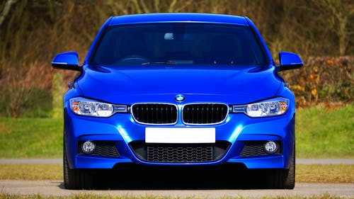 Fotos de stock gratuitas de azul, bmw serie 3, capota, coche