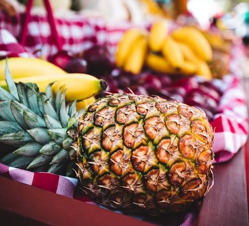 Imagine de stoc gratuită din ananas, apple, banană
