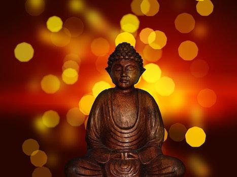Kostenloses Stock Foto zu entspannung, sitzen, reflektierung, statue