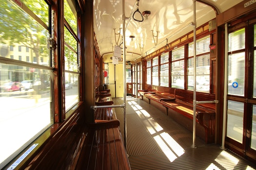 Free stock photo of city, train, public transportation, windows
