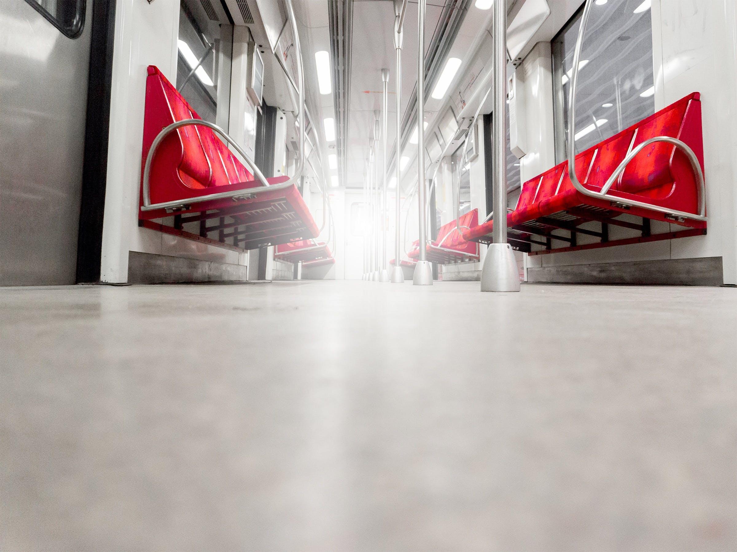 Free stock photo of light, metal, public transportation, rain