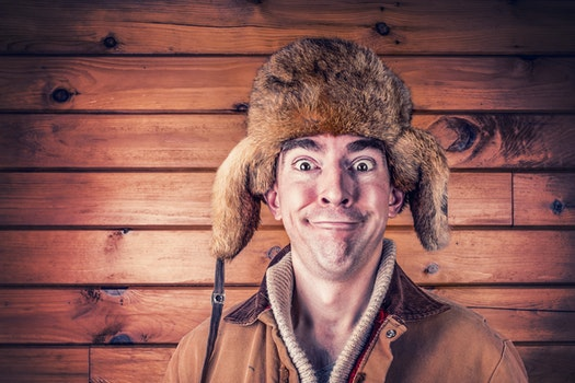 Free stock photo of man, person, hat, fur