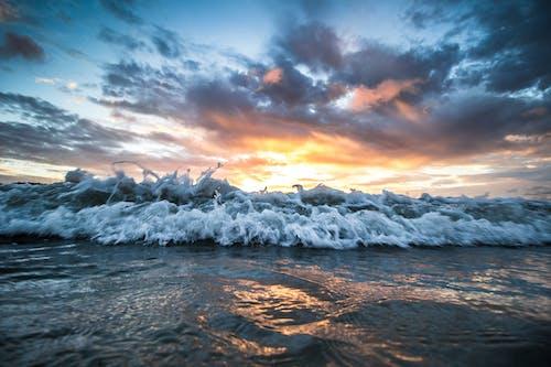 Gratis lagerfoto af aften, dramatisk, hav, havudsigt