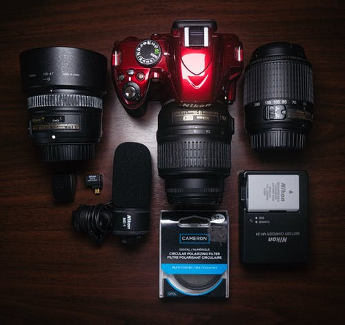 Free stock photo of 50mm, camera, camera equipment, gear