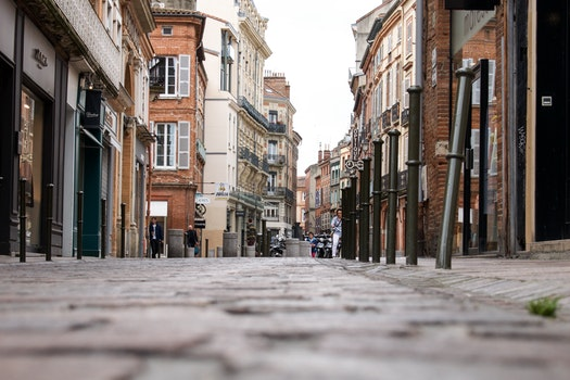 Free stock photo of road, people, street, buildings