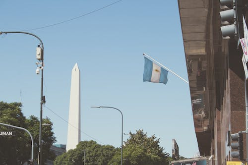 Free stock photo of Argentina, Buenos Aires, flag, Obeslik