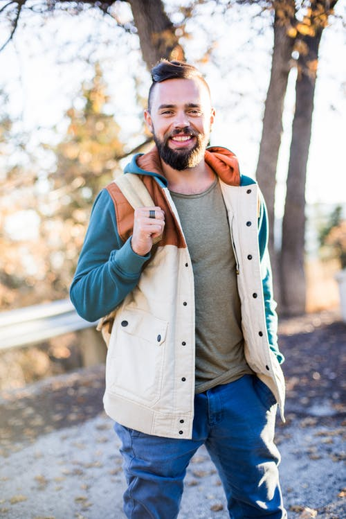 Photo Of Man Wearing Jacket