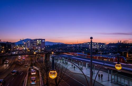 açık, akşam, Almanya, arabalar içeren Ücretsiz stok fotoğraf