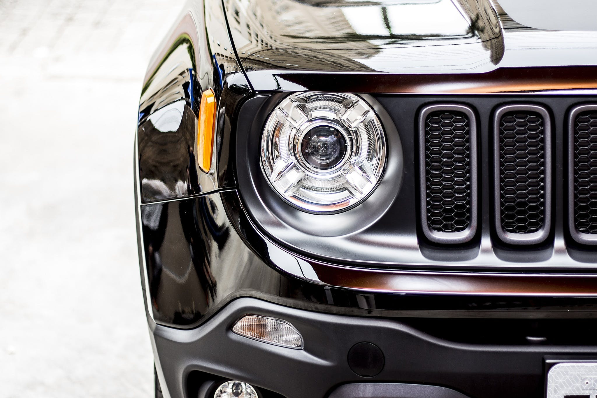 Free stock photo of black car, jeep, renegade