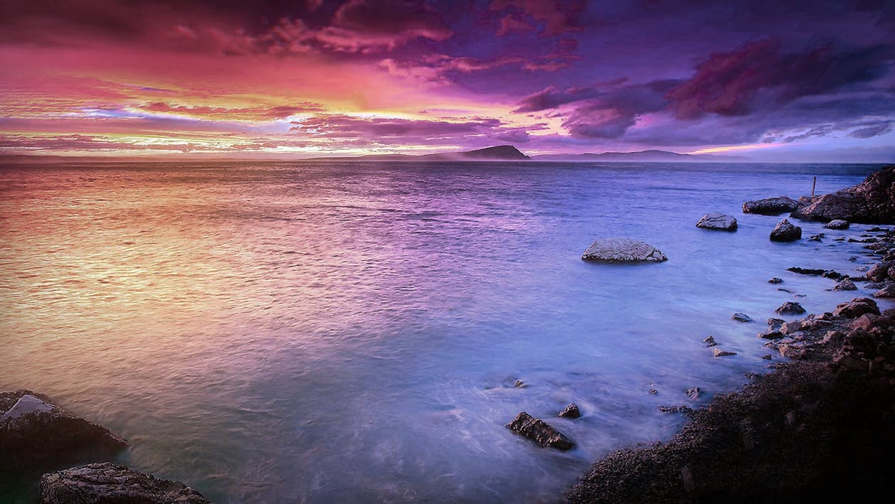 งดงาม, ชายทะเล, ชายฝั่ง