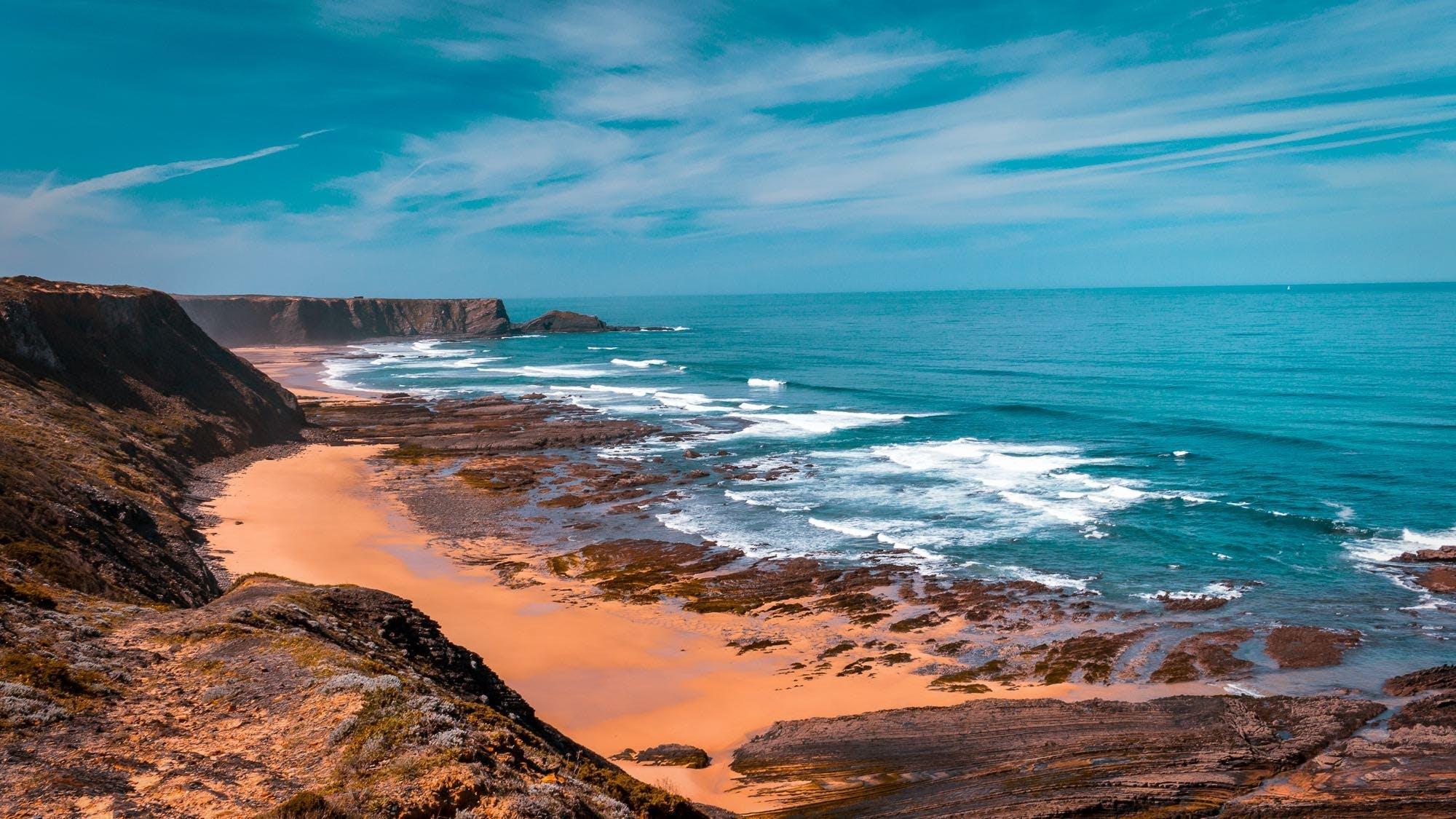 Free stock photo of landscape, beach, portugal