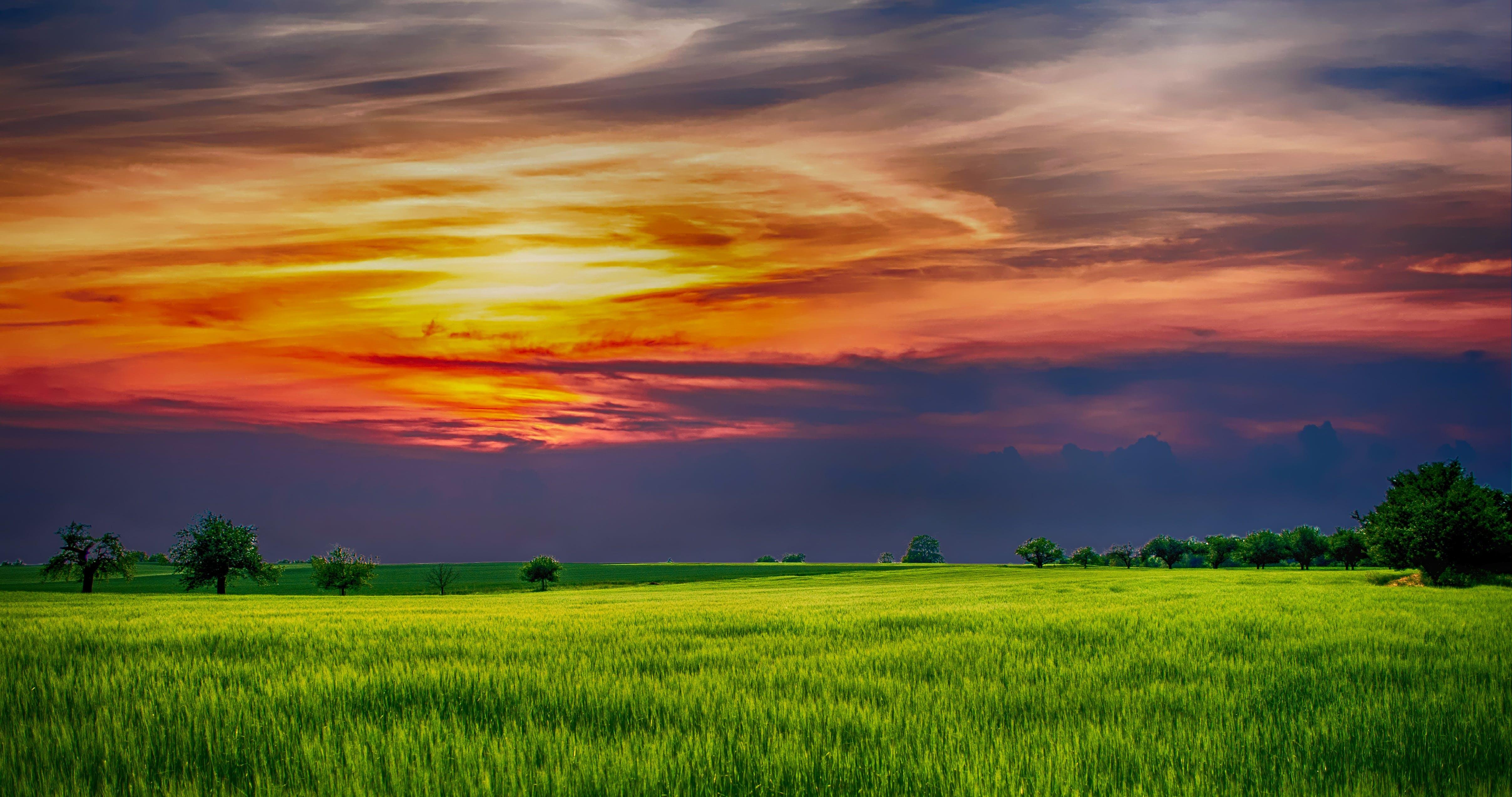 Základová fotografie zdarma na téma hřiště, krajina, malebný, mraky