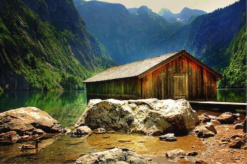 Základová fotografie zdarma na téma chata, hory, idylický, kameny