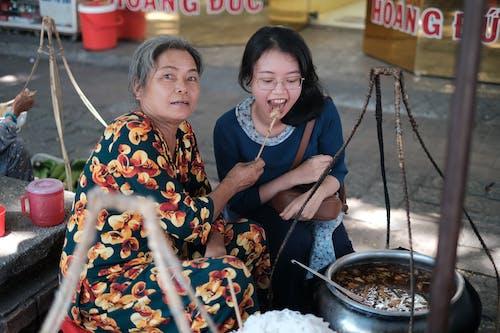Foto stok gratis makanan tradisional vietnam, makanan vietnam, mi, orang vietnam