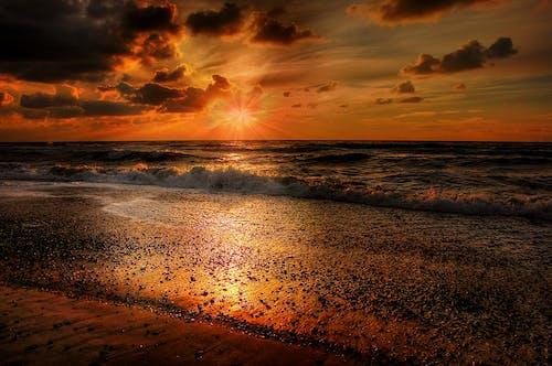 Ingyenes stockfotó Arany, ég, esti ég, felhők témában