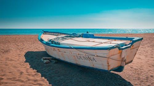 Základová fotografie zdarma na téma člun, horizont, idylický, klid