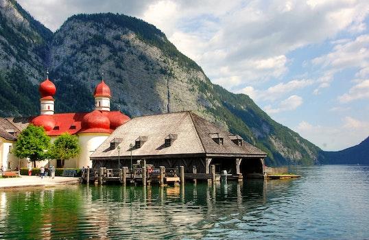 Free stock photo of wood, jetty, sea, landscape