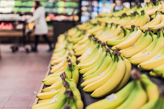 Free stock photo of healthy, fruits, grocery, bananas