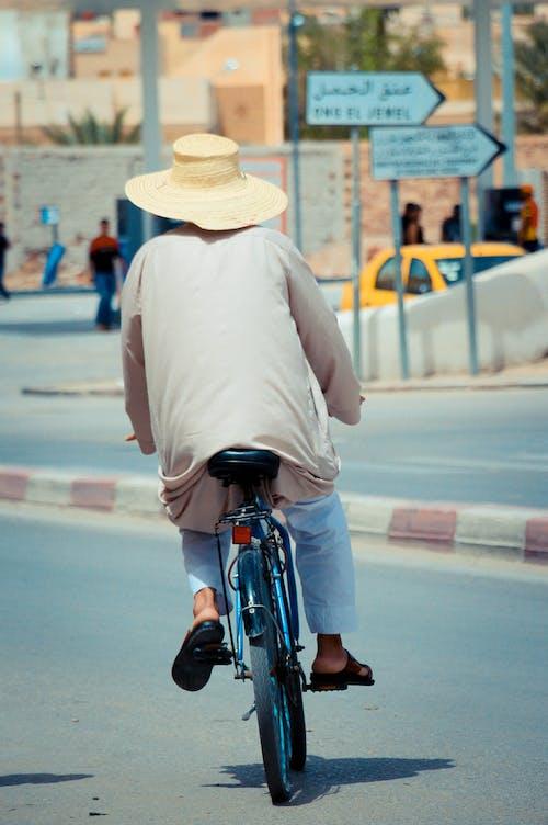 Бесплатное стоковое фото с байкер, велосипед, велосипедист, велосипедный спорт