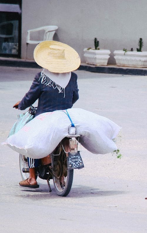 Photo Of Person Riding A Motorcycle