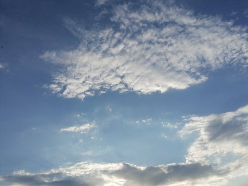 Free stock photo of above clouds, blue sky, cirrus clouds, cloud