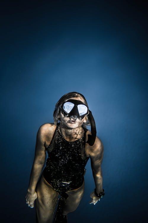 シュノーケリング, スイマー, スノーケル, ダイバーの無料の写真素材