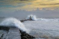 nature, beach, lighthouse