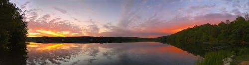 Základová fotografie zdarma na téma horizont, idylický, jezera, klid