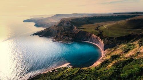 Безкоштовне стокове фото на тему «аерознімок, берег моря, Берегова лінія»