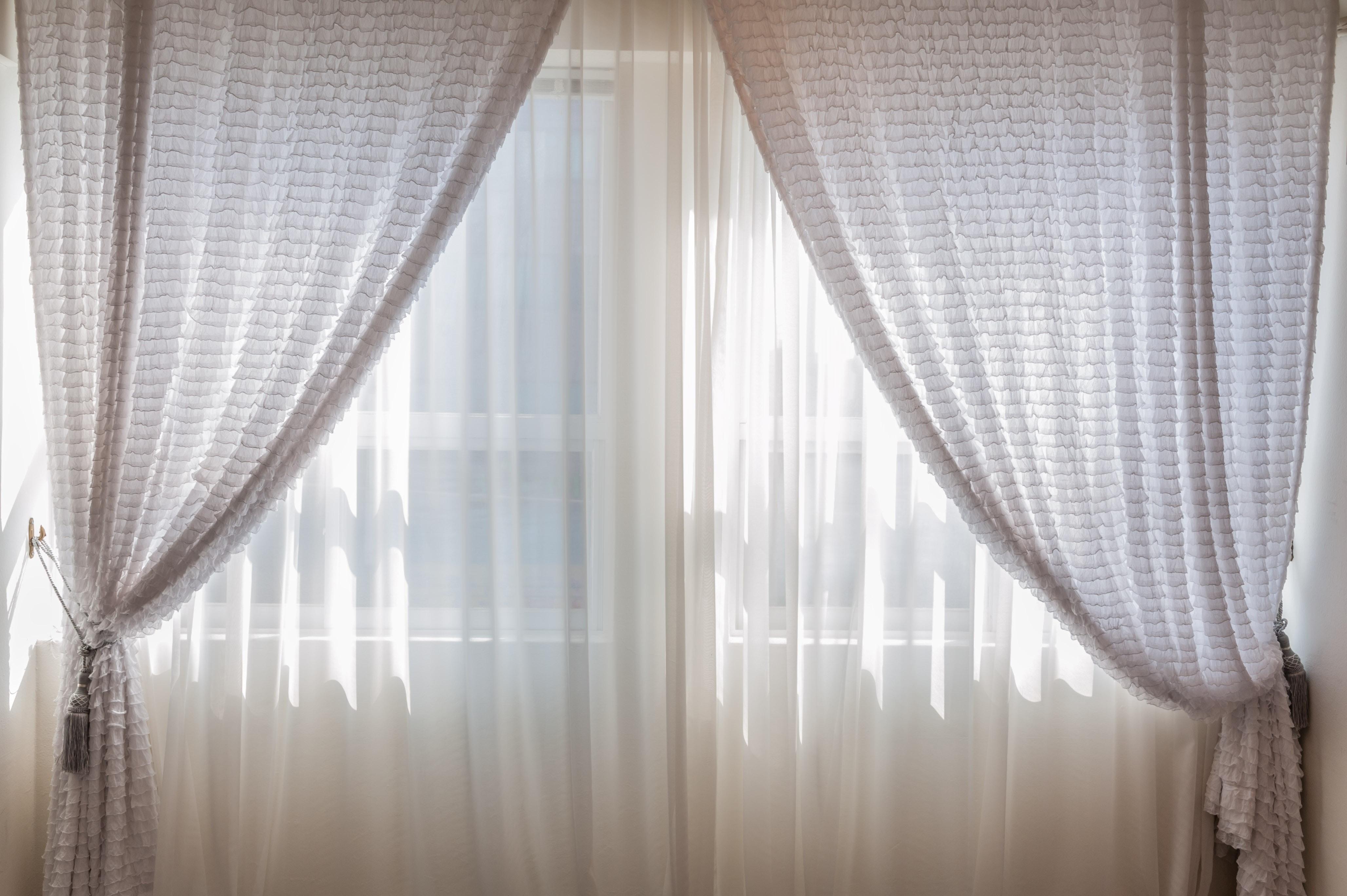 Photo Of White Curtains 183 Free Stock Photo