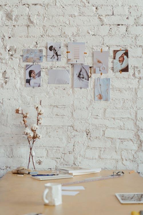 Foto profissional grátis de algodão, ambiente de trabalho, decoração