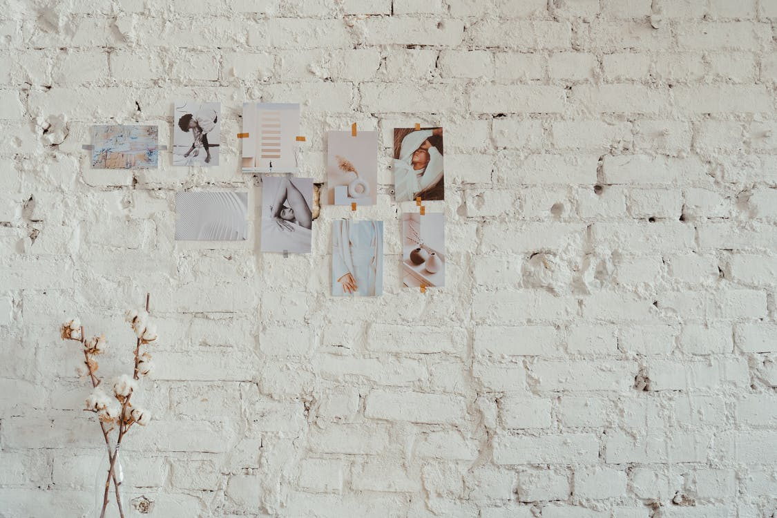 White Wall With Wall Art