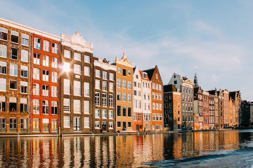 公寓, 反射, 城市, 城鎮 的 免費圖庫相片