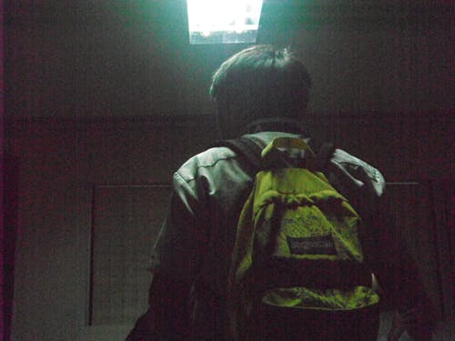 Free stock photo of against the light, ambiance, backpack, dark